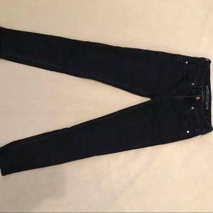 american eagle dark navy blue skinny jeans 🥳